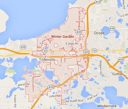 Zip Code For Winter Garden Florida